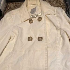 White old navy jacket